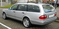 Mercedes-Benz S210 rear 20081202.jpg