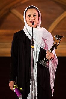 Merila Zarei in 17th Iranian cinema celebration.jpg