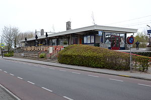Hardinxveld-Giessendam railway station - Th former station building