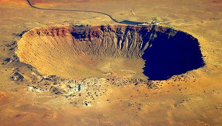 Meteor Crater, Near Winslow, Arizona  № 1144022 загрузить