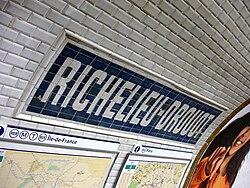 Richelieu – Drouot (Métro Paris)
