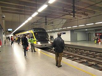 Porto Metro - Porto Metro train.