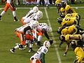 Miami on offense at 2008 Emerald Bowl 08.JPG