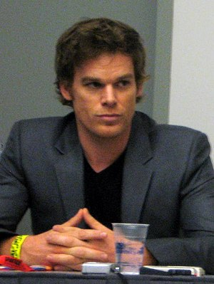 Dexter Morgan - Michael C. Hall at Comic-Con.
