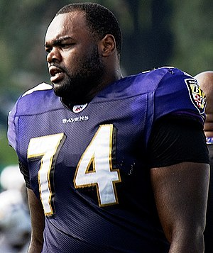Michael Oher Ravens Training Camp August 5, 2009.jpg