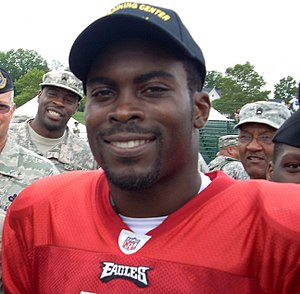 East End (Newport News, Virginia) - Notable former resident, NFL player Michael Vick.