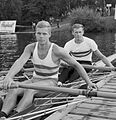 Michel De Meulemeester and Claude Dehombreux 1965.jpg