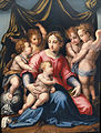 Michele di Ridolfo del Ghirlandaio, Madonna con Bambino, San.jpg