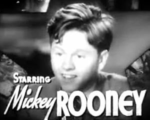 Babes in Arms (film) - Image: Mickey Rooney in Babes in Arms trailer