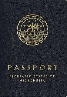 Micronesian passport passport