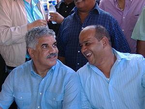Español: Reunion politica