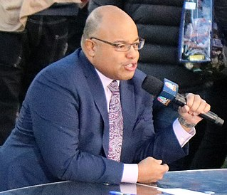 Mike Tirico American sportscaster