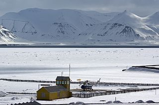 Pyramiden Heliport heliport