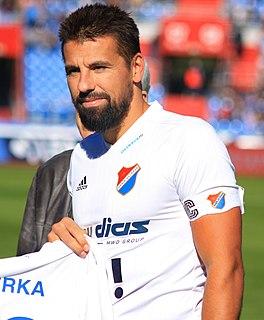 Milan Baroš Czech footballer