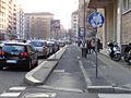 Milano via Olona pista ciclabile.JPG