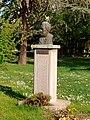 Milivoje Živanović Memorial Bust in Požarevac.jpg