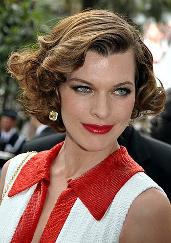 English: Milla Jovovich at the Cannes film fes...