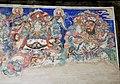 Ming Dynasty mural of Aparajita (無能勝明王; 无能胜明王) and Padanaksipa (步擲明王;步掷明王), two of Ten Wisdom Kings (十大明王), in Dayun Temple (浑源大云寺), Hunyuan, Datong, Shanxi, China.jpg
