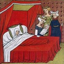 210px Miniature Naissance Louis VIII - Childbirth