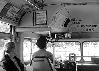 Minnesota Transportation Museum - The Minnesota Transportation Museum pressed this classic General Motors bus back into service as part of the Blue Line light rail opening in June 2004.