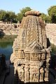 Minor shrine, stepwell, Modhera Sun Temple (16214803167).jpg