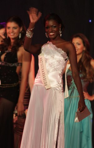 Athina James - Image: Miss Antigua Barbuda 08 Athina James