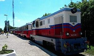 Mk45 2002, Gyermekvasút, Széchenyihegy állomás.jpg