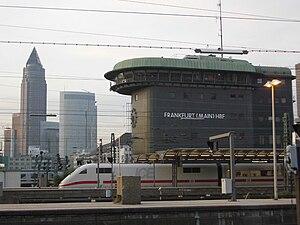 Frankfurt (Main) Hauptbahnhof - The 1957 signal box