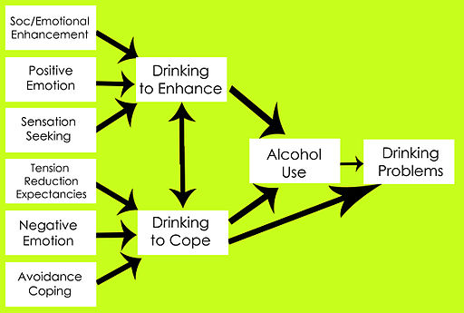Model of Alcohol use as an emotion management strategy
