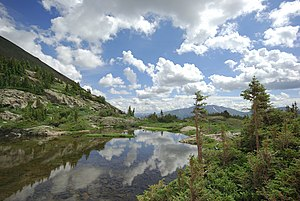 Blue River, Colorado - Mohawk Lake, in the high country west of Blue River