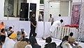 Mohd. Hamid Ansari, the Prime Minister, Dr. Manmohan Singh and the Speaker, Lok Sabha, Smt. Meira Kumar attending the prayer meeting of the former Vice President, Late Shri Bhairon Singh Shekhawat, in New Delhi.jpg