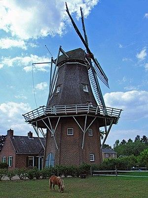 Noordenveld, Norg - Image: Molen Noordenveld te Norg