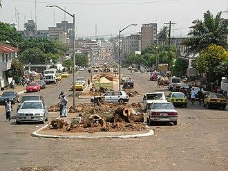 Monrovia - Broad Street, Monrovia.