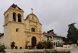 Monterey, California - Cathedral of San Carlos Borromeo (Royal Presidio Chapel) - panoramio.jpg
