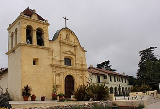 Cathedral of San Carlos Borromeo (Monterey, California) - The Cathedral of San Carlos Borromeo.