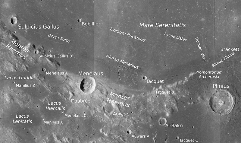 Гемские горы (Луна)