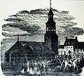 Montréal vers 1790. L'ancienne église Notre Dame et la Place d'Armes..jpg