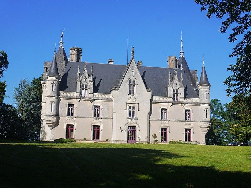 Le château de Montreuil en 2016.