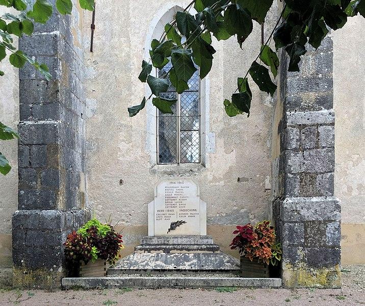 Monument aux morts de Saint-Moré