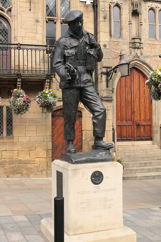 Monument to the Durham Light Infantry, Durham Marketplace Monument to the Durham Light Infantry, Durham Marketplace.jpg