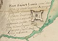 Moose Factory rebaptisé Fort St-Louis après sa capture par les Français en 1686.jpg