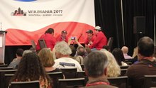 File:Moosetown drummers - Wikimania 2017 Opening Ceremony MVI 5508.webm