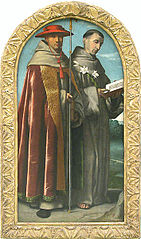 Saint Bonaventure and Saint Anthony of Padua