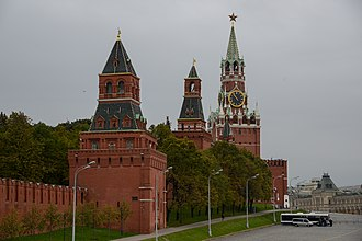Red Square - Moscow Kremlin (finished 1495)