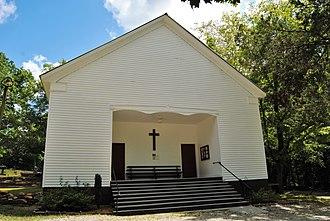 Hebron Church, Cemetery, and Academy - Hebron Church