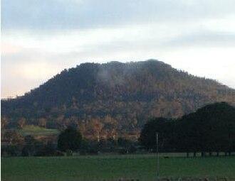 Newer Volcanics Province - Mount Napier