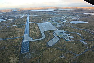 RAF Mount Pleasant Royal Air Force station in the Falkland Islands