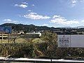 Mount Takasuyama from platform of Susenji Station.jpg