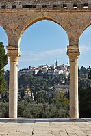 Mount of Olives from Temple Mount Plaza.jpg