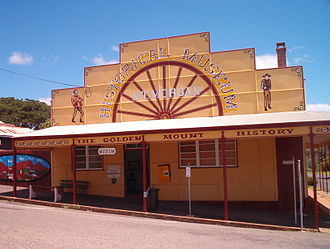 Mount Morgan, Queensland - Mount Morgan Museum, 2004